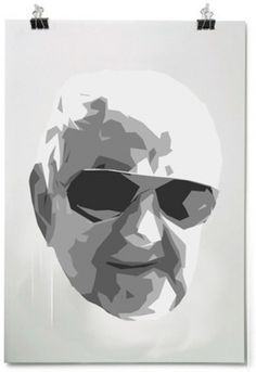 Beleonia #poster #grandpa #illustration #art