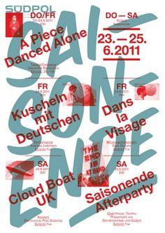 Südpol-Plakate