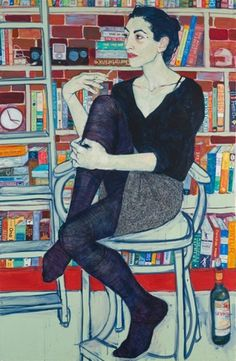 Hope Gangloff - BOOOOOOOM! - CREATE * INSPIRE * COMMUNITY * ART * DESIGN * MUSIC * FILM * PHOTO * PROJECTS #figure #drawing #painting
