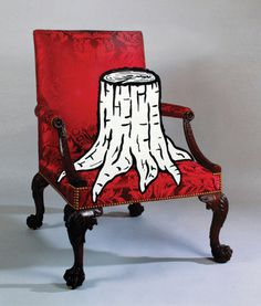 image #rob #tree #chair #illustration #mimesis #kesseler #art #collage
