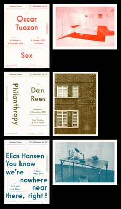 Jonathan Viner Gallery - OK-RM #gallery #print #identity #branding