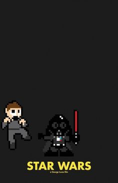 8-Bit Posters for Cult Movies ! | Ufunk.net #movie #bit #wars #star #poster