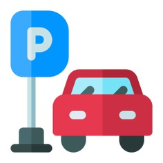 See more icon inspiration related to car, transport, sign, parkings, car parking, transportation, signaling, automobile, tickets, vehicles, cars, parking, signal, signs and vehicle on Flaticon.