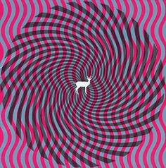 "Album artwork for Deerhunter's ""Cryptograms"""