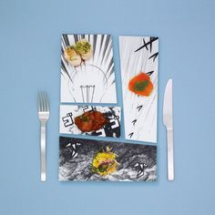Manga Dishes and Tableware by Japanese Mika Tsutai » Design You Trust – Social design inspiration! #ideogram #japanese #design #graphic #porcelain #food #dish