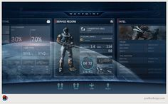 Paul Lee Design #halo #ui
