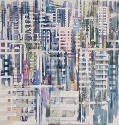 Semi-abstract Urban Scenes by Nuri Kuzucan - JOQUZ