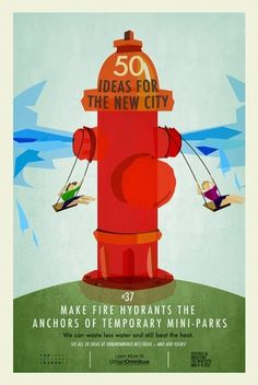 50 Ideas for the New City « Candy Chang #illustration #poster