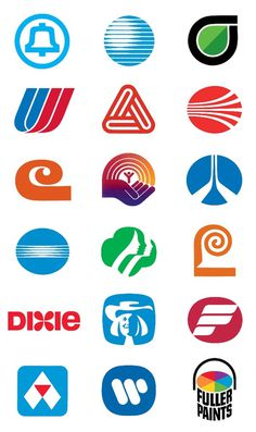 File:Compilation of Saul Bass logos.png #logos #saul bass
