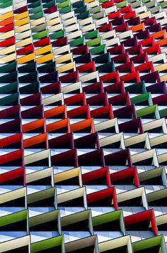 Фотограф Jared Lim #colors #geometry #pattern