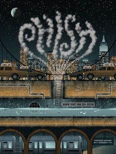 FFFFOUND!   GigPosters.com - Phish #color #illustration #poster #music #typography