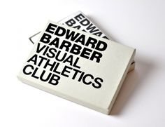 Edward Barber : Visual Athletics Club : SampsonMay #packaging