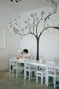 Graphic-ExchanGE - a selection of graphic projects #interior #cafe #design #agroiz