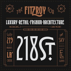 Fitzroy Display on Behance