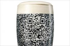 Guinness QR Code Pint Glass Can Only Be Scanned When Full - PSFK #guinness #beer #qr #code #glass #experience #product #social
