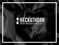 Heckathorn Property Management and Consulting, LLC on Behance #logo #sans #black #arrow