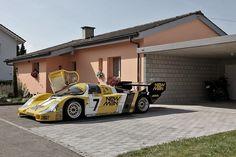 All sizes | ah, the neighbors | Flickr - Photo Sharing! #962 #956 #garage #man #porsche #new