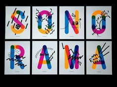type, colour, overlay #colour #typography