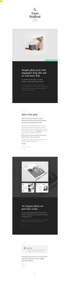 PERSONA II - Tumblr Theme #tumblr #mario #maruffi #tumblog #psd #design #themebull #ui #theme #blog #web