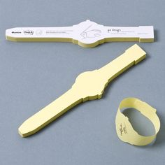 Post-It Note Watch | Design Milk #post #it #design #watch