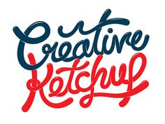 Creative Ketchup #lettering #ketchup #drawn #type #hand #typography