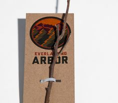 Everlasting Arbor on Behance #tree #packaging #brand #nature #identity #planting