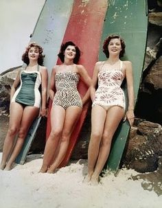 SURF-KNOT #girls #vintage #surf