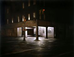 Dan Witz | EMPTY KINGDOM You are Here, We are Everywhere #city #night #building #art #painting #light