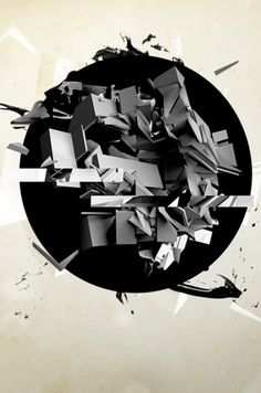 Disorder on the Behance Network #abstract #disorder #design #poster