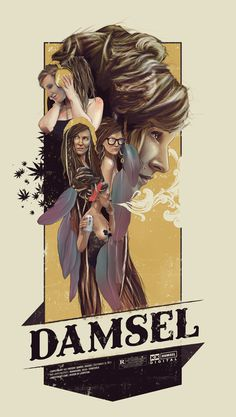 Damsel Suicide on Behance by Loopstok #vint #suicidegirls #print #art #poster #typography