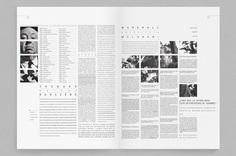 Septième art / Editorial on Behance