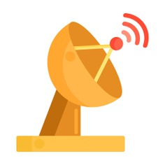 See more icon inspiration related to antenna, architecture and city, radio antenna, satellite dish, wireless connectivity, satellite, parabolic, transmission, electronics, communications, signal and technology on Flaticon.