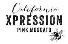 Odear California Pink Moscato #pink #ros #bee #label #wine #logo