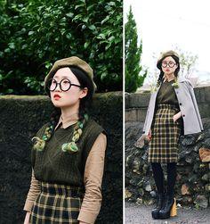 2520587_khakicheck #fashion #women