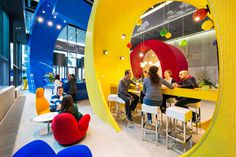 Google's Dublin Campus #interior #office #design #architecture #workspace #startup