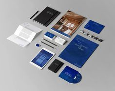 Johnson Design Branding - Mr Miles Johnson #branding #design #home #johnson #direction #identity #architecture #art #stationery #blue #typography