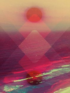 Pinterest #colors #pretty #transparency #triangles