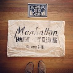 Zoom Photo #lettering #manhattan #cleaning #dry #typography