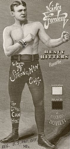 Mister Freedom® Strongman Cuff POSTER #poster #vintage #strongman