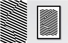 Stripes portraithttp://www.behance.net/gallery/Stripes Portrait Face Expressions/10089925 #image