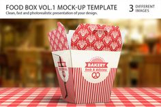 Food Box Vol.1 Mock-up Template https://creativemarket.com/itembridge/3859-Food-Box-Vol.1-Mock-up-Template SPEC: — Easy customization ( #mock-up #shadows #layered #red #ood #mock #mockup #packaging #box #food #clean #highlights #transparent #up #template #logo #paper #fast