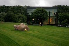Stunning Glass House in Lithuania by G.Natkevicius & Partners   HomeDSGN, a daily source for inspiration and fresh ideas on interior design #architecture