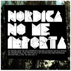 cover art | Flickr: Intercambio de fotos #nordicamusica #pop #rock #typographic #covert #com #art #music #www