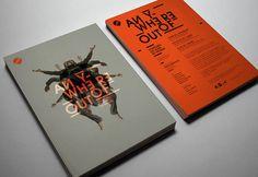 Les produits de l'épicerie / design graphique / Anywhere out of / Cie BVZK / Nora Granovsky #orange #design #graphic #typography