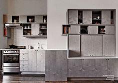 Image Spark dmciv #kitchens #wood #interiors #cabinets