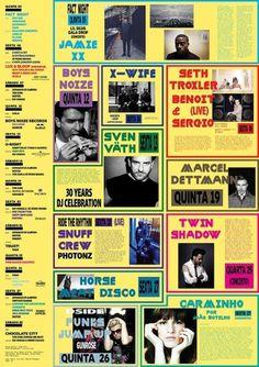 Todos os tamanhos | Flyer LUXFrágil Maio 2011 | Flickr – Compartilhamento de fotos! #type #flyer #yellow