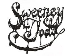 Sweeney Todd on Typography Served #greg #sweeney #todd #eckler #type