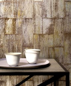 Eclectic Handcrafted Wallcovering by Elitis at Milan Design Week - #wallcoverings, #walls, #walldecor, wallcoverings, wall decor