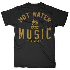 Hot Water Music Troop The Selected Works Of Kyle Crawford #tshirt #typography