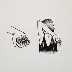 A Doodle A Day by Geffen Refaeli #refaeli #illustration #geffen #doodle